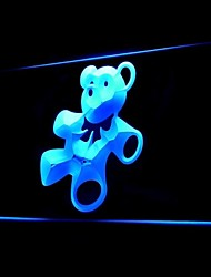 Cute Teddy Bear Advertising LED Light Sign