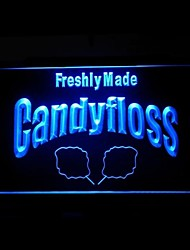 Candyfloss Freshly Made Advertising LED Light Sign
