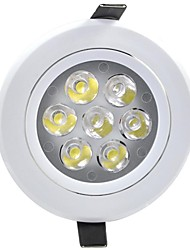 7W LED Recessed Lights Recessed Retrofit 7 Integrate LED 580 lm Warm White Decorative AC 85-265 V