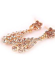 Meet You Earrings Inlaid With Austrian Rhinestone