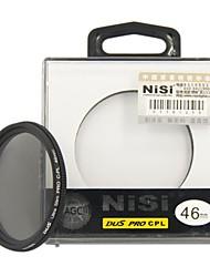 nisi 46mm pro cpl ultradünne Zirkular-Polfilter Objektiv-Filter