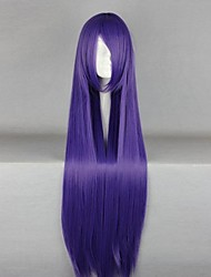Cosplay Wigs Cosplay Cosplay Purple Long Anime Cosplay Wigs 100 CM Heat Resistant Fiber Female