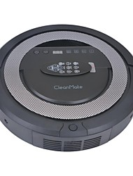 Intelligent Vacuum Cleaner Robot with 6-in-1 Multifunction Sweep Vacuum with Virtual Wall Self Charge- Black