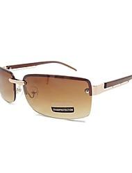 Men Rimless Sunglasses Driver Mirror Sunglasses(Assorted Color)