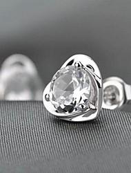 Korea's Heart Kiss Stud Earrings