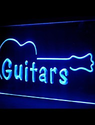 Guitars Music Advertising LED Light Sign