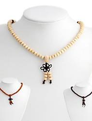 Освящение Деревянный Будда ожерелья шариков (1 шт)
