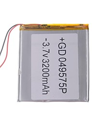 "Universal Replacement 3.7V 3200mAh  Li-polymer Battery for 7~10"" Macbook Samsung Acer Sony Apple Tablet PC (4*95*75)"