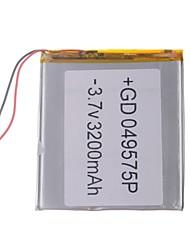 "Universele vervanging van 3.7V 3200mAh Li-polymer batterij voor 7 ~ 10 ""Macbook Samsung Acer Sony Apple Tablet PC (4 * 95 * 75)"