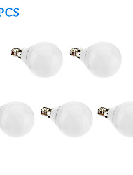 Ampoules Globe Blanc Chaud 5 pièces Sol E14/G5 6 W 32 SMD 3022 480 LM 2700 K AC 100-240 V