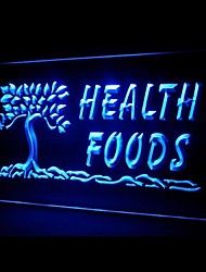 Health Foods Tree Advertising LED Light Sign