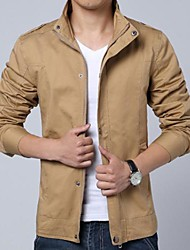 Men's Long Sleeve Jacket Casual/Work Pure