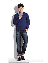 мужские свободные Жан брюки