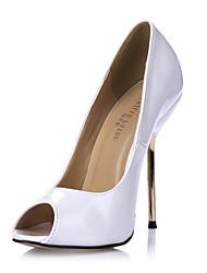 stiletto calcanhar peep toe das mulheres bombas sapatos (mais cores)