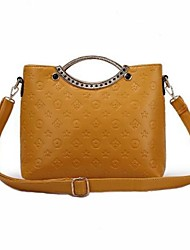 Women's Embossed Shoulder Bag