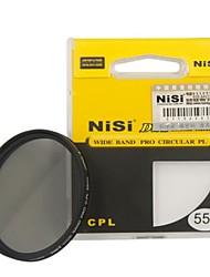nisi 55mm pro cpl ultradünne Zirkular-Polfilter Objektiv-Filter