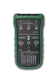mastech ms5900 3 fases do motor testador seqüência medidor indicador de rotação de campo levou
