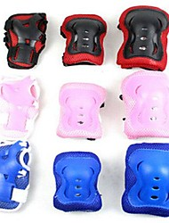 3 Sets Children Knee Palm Elbow Protective Pad Support Assorted Color