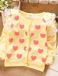 Girl's Cotton Jacket & Coat , Spring/Fall Long Sleeve
