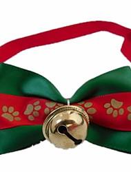 Todas las Estaciones - Rojo - Cosplay / Navidad - Algodón - Corbata - Perros