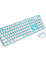 LX-T004 2.4G Wireless Shine Keyboard Mouse Kit