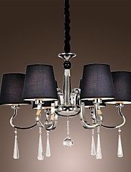 Chandelier ,  Modern/Contemporary Traditional/Classic Rustic/Lodge Vintage Island Chrome Feature for Candle Style MetalLiving Room
