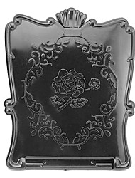 1 stuks Portable En Vintga Fold Rose make-up spiegel