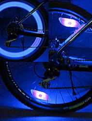 YELVQI Engenharia plástico azul Spoke Luz Hot Wheels