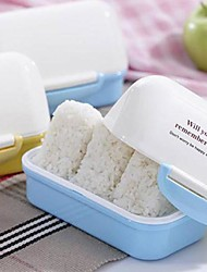 Cute Little House Bunk Style Sushi Box (Random Color)