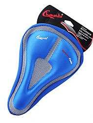 CHAUNTS3D Double Thickening Memory Sponge Hollow Triangle Blue Bicycle Saddle Seat Cover