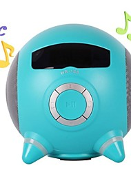 Mini Cute U Disk SD Card FM MP3 iPod PC Speakers(Assorted Colors)
