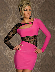 Women's Dresses , Cotton/Lace Casual YDY