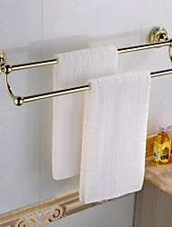 Antique Ti-PVD Finish  Brass Material  Two Towel Bars
