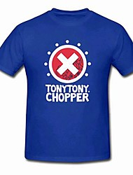 Ispirato da One Piece Tony Tony Chopper Anime Costumi Cosplay Cosplay Tops / Bottoms Manica corta T-shirt Per Unisex