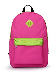 Women's Girls Fashion Nylon Oxford Book School Bag Camping Backpack