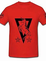 Mobile Suit Gundam johnny · gereden rode katoenen cosplay t-shirt
