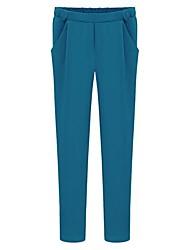 Undurchsichtig - Mikro-elastisch - Harem - Damen-Hosen (Polyester)