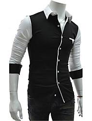 régler la correspondance des couleurs de chemise à manches longues occasionnels