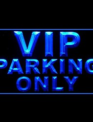 VIP Parking Only Advertising LED Light Sign