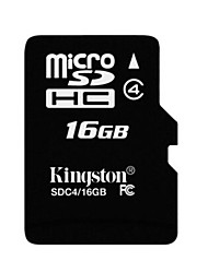 Kingston 16GB Clase 4 MicroSD/MicroSDHC/MicroSDXC/TFMax Read Speed8 (MB/S)Max Write Speed4 (MB/S)