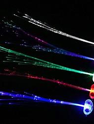 luz coway levou noite emitindo trança de flash (cor aleatória)
