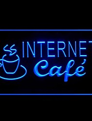 Light Café Internet Publicidad LED Entrar