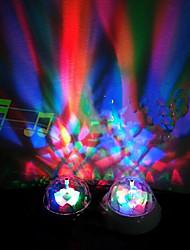 Lampe de table LED, une lumière, moderne Projection multi plastique couleur
