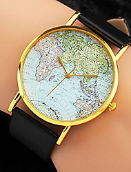 AONECE Map Of Indian Painting Personalized Watch-White,Black,Coffee