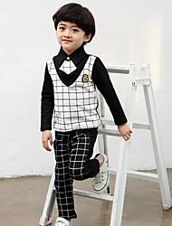 Boy's Cotton Clothing Set , All Seasons Long Sleeve