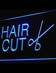 HAIR CUT Advertising LED Light Sign