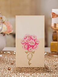 Place Cards and Holders Pink 'Sweet ' Flower Design Table Number Card-Set Of 10