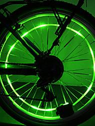 YELVQI PC Verde Bobina Lamp Ciclismo Hot Roda