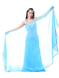 Belly Dance Stage Props Women's Performance Chiffon 1 Piece Veil