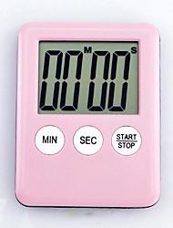 "Lovely Magnet Kitchen Timer (Random Color) , Plastic 2.8""x2.2""0.32"""
